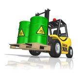 Toxic waste stock illustration