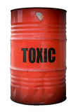 Toxic Waste Barrel Stock Image