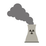 Toxic waste contamination icon Royalty Free Stock Image