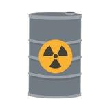 Toxic waste contamination icon Royalty Free Stock Photography