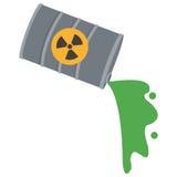 Toxic waste contamination icon Royalty Free Stock Photos