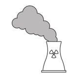Toxic waste contamination icon Royalty Free Stock Photo
