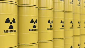 Toxic waste stock video footage