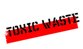 Toxic Waste rubber stamp Royalty Free Stock Images