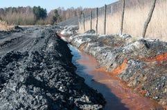 Toxic water ang swag heap Stock Images