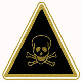 Toxicity sign Royalty Free Stock Photos