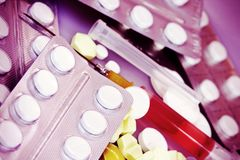Toxicodependência Fotografia de Stock Royalty Free