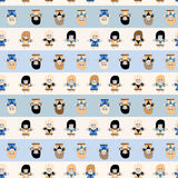 Toy's pattern Royalty Free Stock Photo