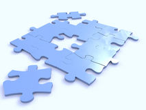 Toy � puzzles Royalty Free Stock Photos