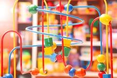 toy деревянное Стоковые Фотографии RF