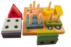 toy деревянное Стоковая Фотография RF