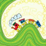 toy поезд Стоковая Фотография