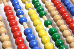 Toy Abacus royalty free stock image