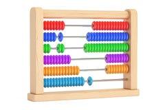 Toy Abacus, rappresentazione 3D Fotografie Stock Libere da Diritti