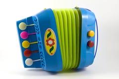 Toy accordion Stock Photography