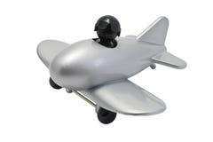 Toy aeroplane Stock Photos