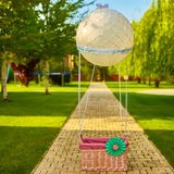 The toy air balloon for child Stock Image