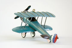 Toy aircraft Stock Photo