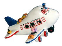 Toy Airplane Royalty Free Stock Photography
