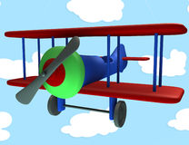 Toy airplane Royalty Free Stock Photos