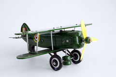 Toy Airplane Isolated Royalty Free Stock Photography