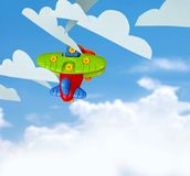 Toy Airplane Royalty Free Stock Photos
