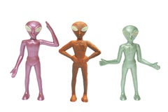 Toy Alien Figures Stock Photos