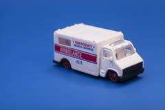 Toy ambulance car Royalty Free Stock Photos