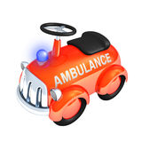 Toy ambulance car Royalty Free Stock Image