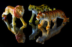 Toy animals Stock Images