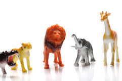 Toy animals Royalty Free Stock Photo