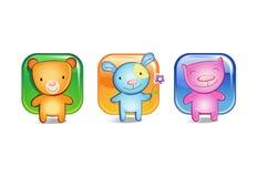 Toy animals Stock Photo