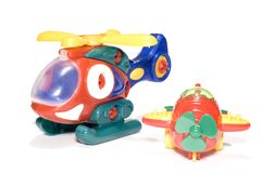 Toy aviation Royalty Free Stock Image