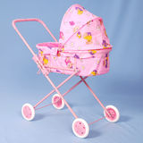 Toy baby buggy Stock Photography
