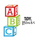 Toy baby design Royalty Free Stock Image
