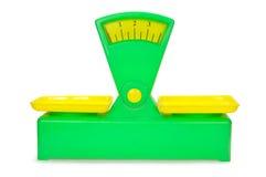 Toy balance Stock Images
