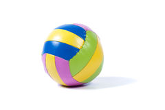 Toy Ball. On a white background Royalty Free Stock Photo