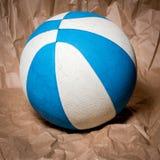 Toy Ball för att spela basket Arkivfoto