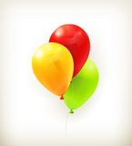 Toy balloons Stock Image