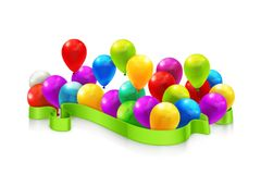 Toy balloons Royalty Free Stock Photos