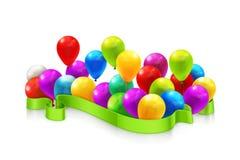 Toy balloons Royalty Free Stock Photos