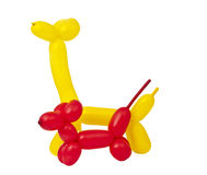 Toy of balloons isolated Stock Photography