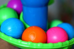 Toy Balls Lizenzfreies Stockfoto