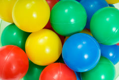 Toy balls Royalty Free Stock Image
