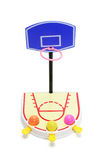 Toy Basket Ball Game Royalty Free Stock Photo