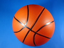 Toy basketball ball Stock Images