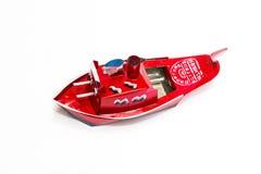 Toy Battleships vermelho Foto de Stock Royalty Free