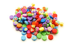 Toy beads Stock Photography