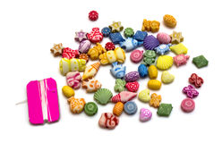 Toy beads set Stock Photo