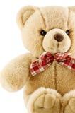 Toy bear. On white background stock photo